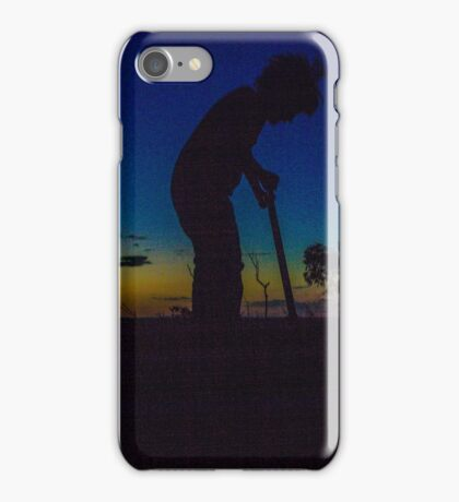 scooter sunset iPhone Case/Skin