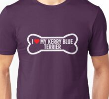 I Heart Love My Kerry Blue Terrier Unisex T-Shirt
