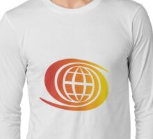 SpaceShip Earth SunBurst Long Sleeve T-Shirt