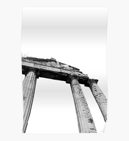 Ancient Ruins, Athens Poster