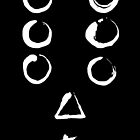 Seven Samurai - black by malfunkt10n