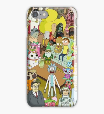 Total Rickall iPhone Case/Skin