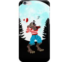Wereswally / Wereswaldo / Where's Wally / Waldo iPhone Case/Skin