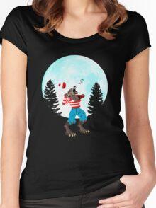 Wereswally / Wereswaldo / Where's Wally / Waldo Women's Fitted Scoop T-Shirt