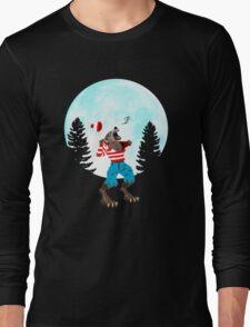 Wereswally / Wereswaldo / Where's Wally / Waldo Long Sleeve T-Shirt