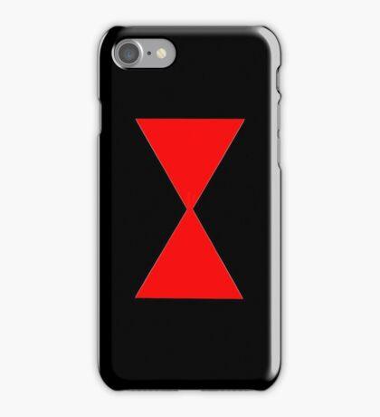 Black Widow Logo iPhone Case/Skin