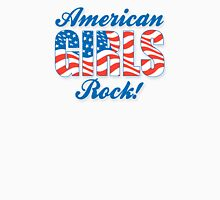 American Girls Rock! - Red, White & Blue Graphic Unisex T-Shirt