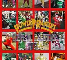 Power Rangers Cosplay Calendar 2015 by Joe Bolingbroke