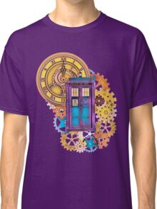 Colorful TARDIS Doctor Who Art Classic T-Shirt