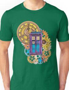 Colorful TARDIS Doctor Who Art Unisex T-Shirt