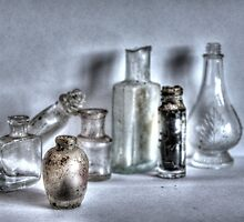 old bottles by ljbphotography