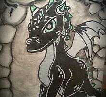Welcome Dragon mug  by mermaid1031