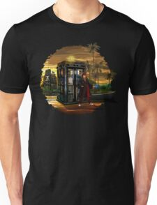 time and space traveller lost in the pirates AGE Unisex T-Shirt