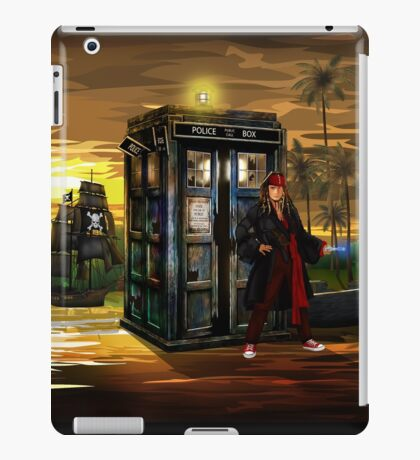 time and space traveller lost in the pirates AGE iPad Case/Skin