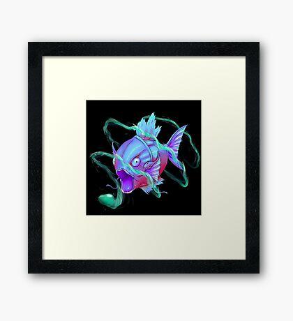 SiNxRealize Blue Magikarp Framed Print
