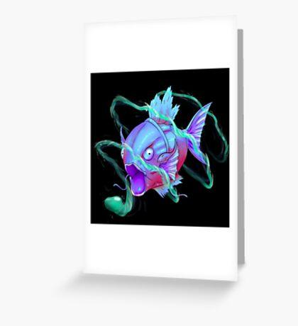 SiNxRealize Blue Magikarp Greeting Card
