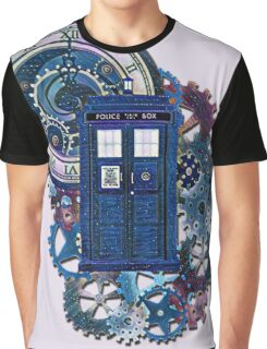 Time and Space Doctor Who inspired Art Graphic T-Shirt