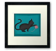 is that cute? Framed Print