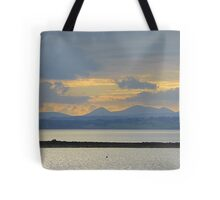 A Mellow Sunset Over Inch Island..................................Ireland Tote Bag