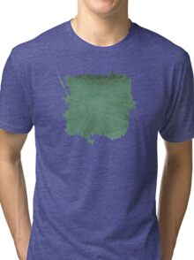 Watercolor Abstraction: Scored Paper Tri-blend T-Shirt