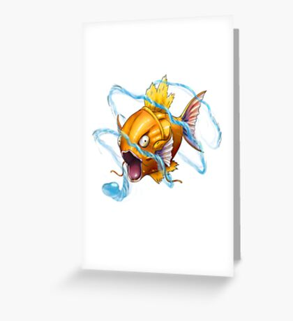 SiNxRealize Magikarp Greeting Card