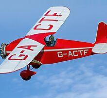 Comper CLA.7 Swift G-ACTF by Colin Smedley