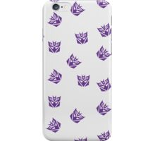 Decepticon Symbol iPhone Case/Skin