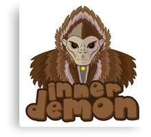 inner demon - Totto Canvas Print