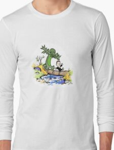 H.P. and Cthulhu Long Sleeve T-Shirt