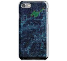 USGS TOPO Map California CA Sly Park 300543 1952 24000 geo Inverted iPhone Case/Skin