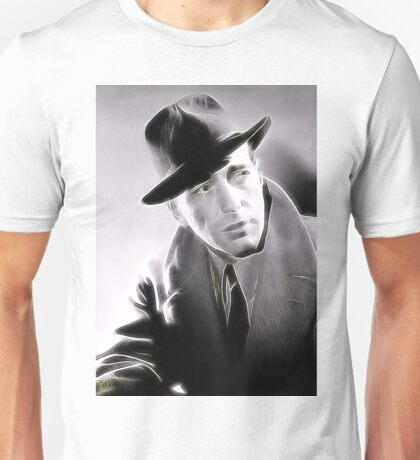 Humphrey Bogart by JS Unisex T-Shirt