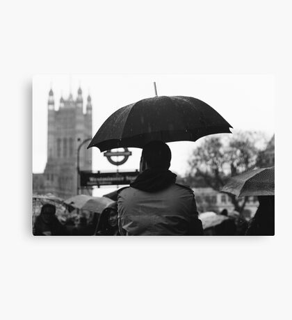 WESTMINSTER, LONDON - 2017 Canvas Print