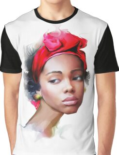 African girl Graphic T-Shirt