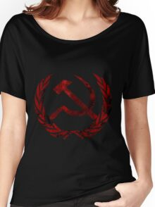 Communist Party Symbol 2  Women's Relaxed Fit T-Shirt