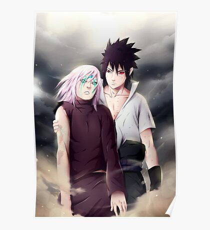Sasuke and Sakura Poster