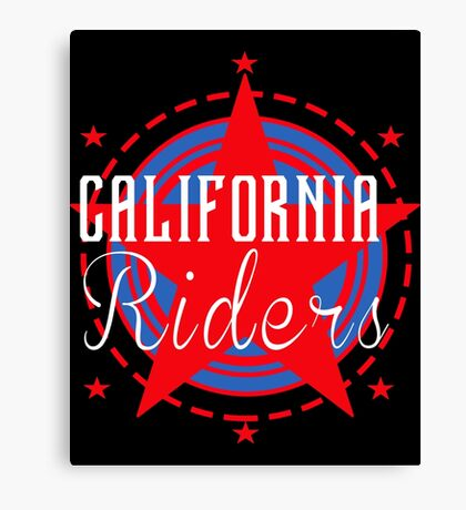 California Riders Canvas Print