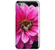 Insects on the flower iPhone Case/Skin