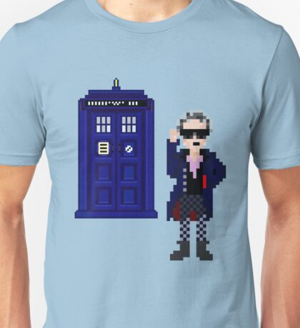 8-bit 12th Doctor Unisex T-Shirt