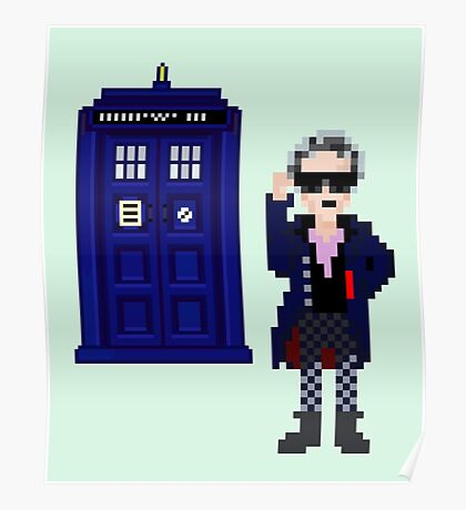 8-bit 12th Doctor Poster