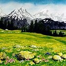 THE SWISS ALPS by RainbowArt