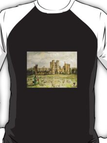 Plein Air Painting At Cowdray House Ruins Sussex T-Shirt