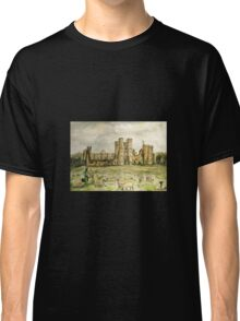 Plein Air Painting At Cowdray House Ruins Sussex Classic T-Shirt