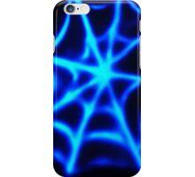 neon spider web iPhone Case/Skin