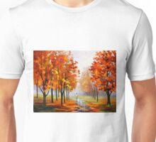 PINK FOG - Leonid Afremov Unisex T-Shirt