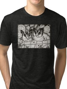 Sugar Glider Garden Tri-blend T-Shirt