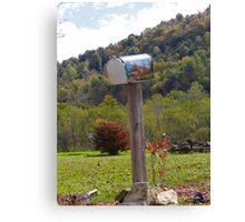 Country Mailbox Canvas Print