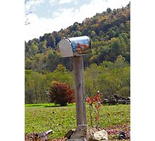 Country Mailbox Photographic Print