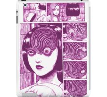 Uzumaki (Pink) iPad Case/Skin