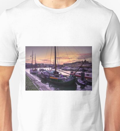 Bristol Harbour Sunset  Unisex T-Shirt