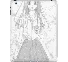School Girl  iPad Case/Skin